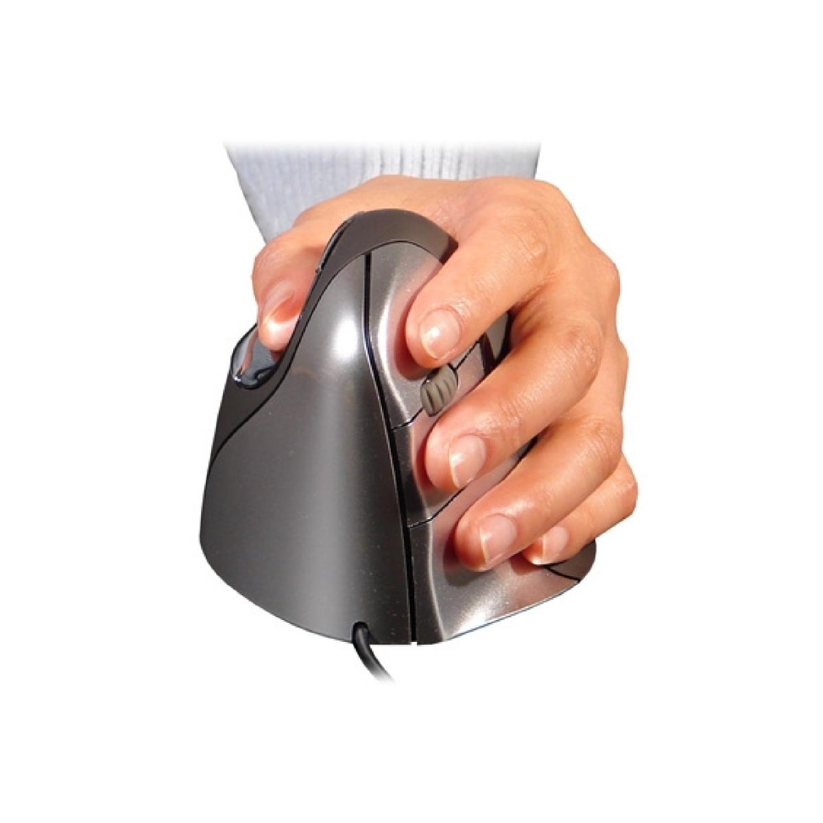BakkerElkhuizen Evoluent 4 ergonomische muis voor linkshandigen