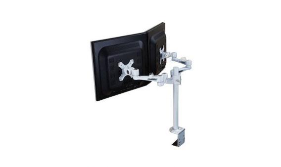 Ergonomique ErgoMonarm Duo monitor standaard