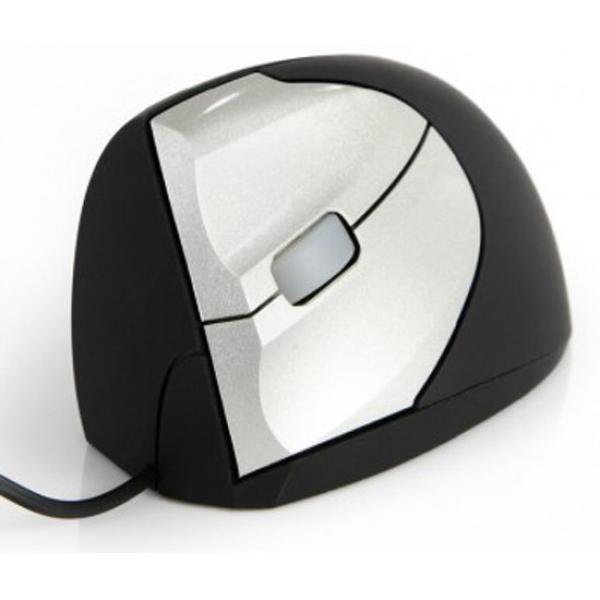 De Minicute EZmouse 2 ergonomische verticale muis voor linkshandigen