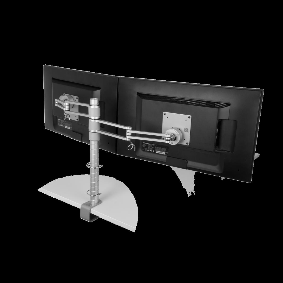 R-GO Tools Zepher 3 ECO Twin verstelbare monitorarm
