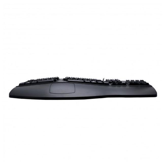 Vooraanzicht van de Spire Curvature III ergonomisch toetsenbord
