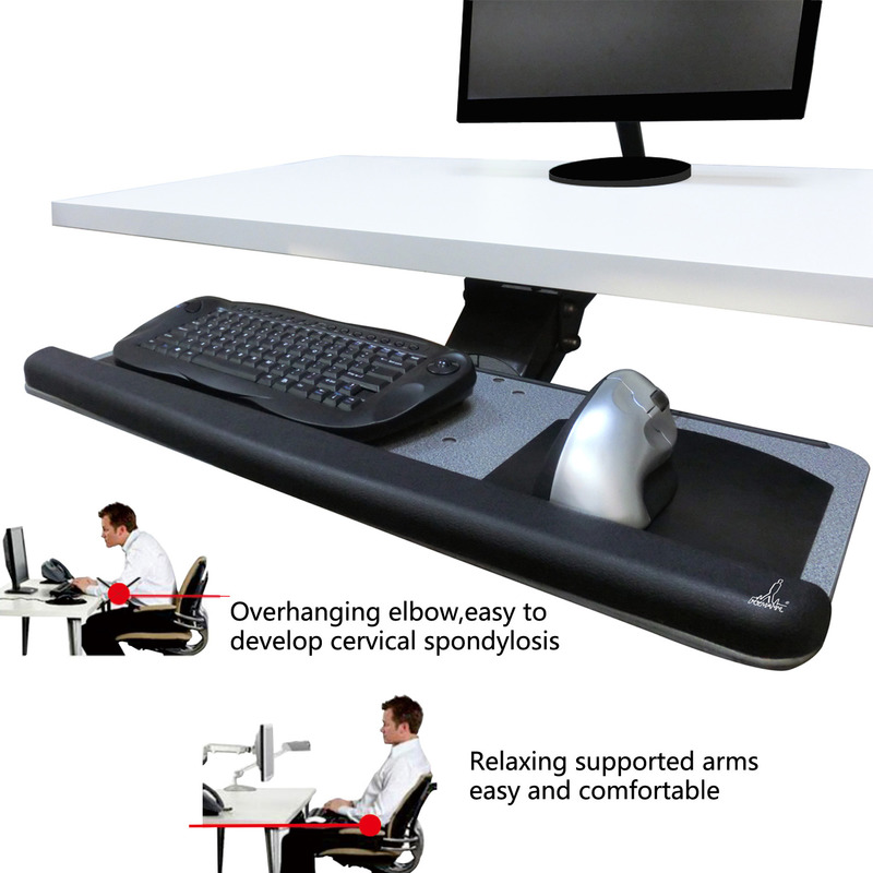 Verstelbaar blad voor toetsenbord, de Xymann Professional