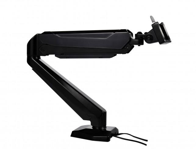 Spire Single monitor arm zwart