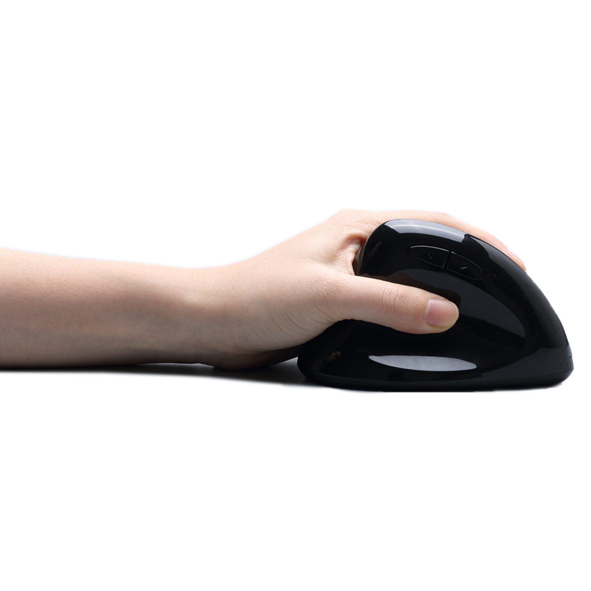2,4 GHz draadloze verticale linkshandige programmeerbare muis