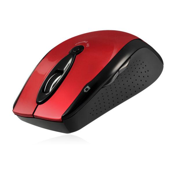 Draadloze ergonomische optische muis