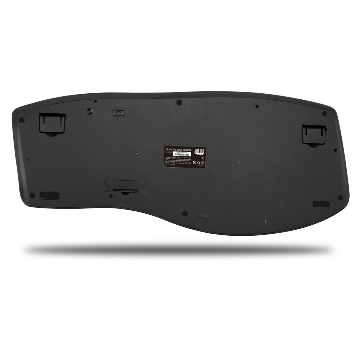 Draadloos ergonomisch toetsenbord en optische muis